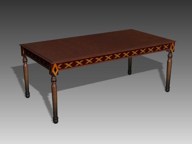 Tables  a034 3D Model