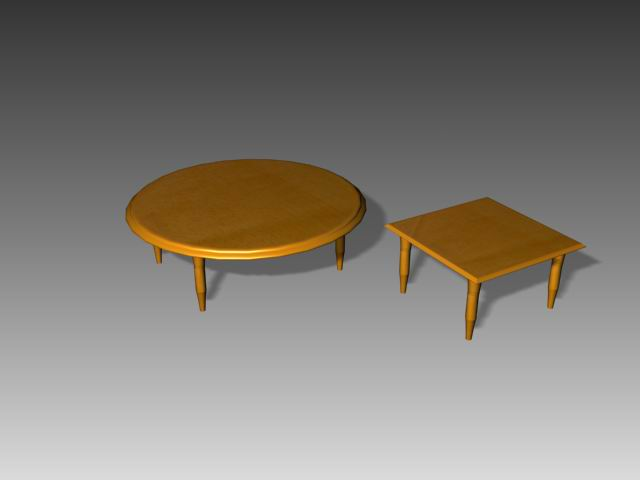 Tables a050 3D Model