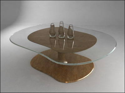 / tea tables 6-3 3D Model