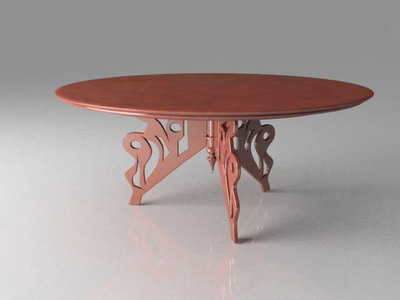 Tea tables 7-5 3D Model