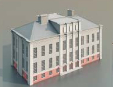 teaching buildings / Architectural Model-14 3D Model