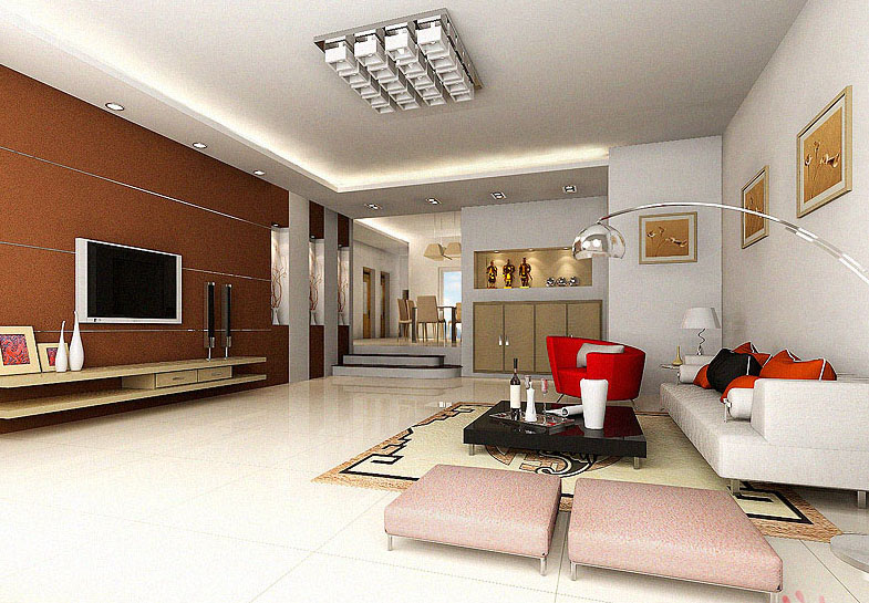 The living room / indoor space 3D Model
