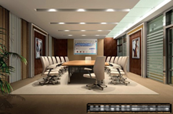 The whole meeting room model 3D Model