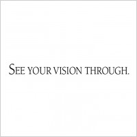 see your vision through logo