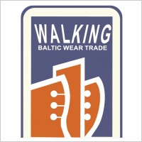 walking logo