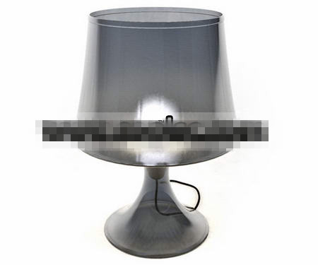 Transparent glass table lamp 3D Model