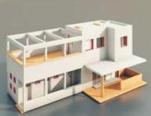 Villas and Construction -66 3D Model