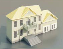 villas / Architectural Model-2 3D Model