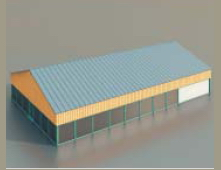 Warehouse / workshop/Construction-60 3D Model