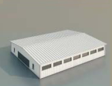 Warehouse / workshop/Construction-62 3D Model