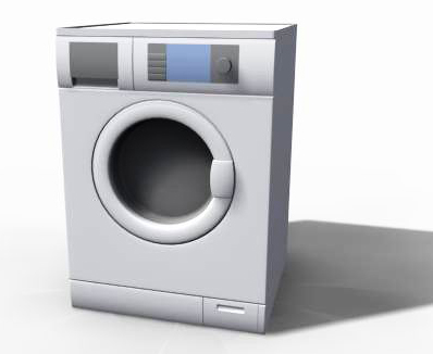 Washing Machine 3D Model-1