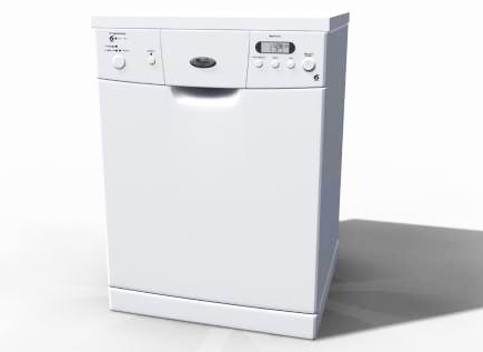 Washing Machine 3D Model -2