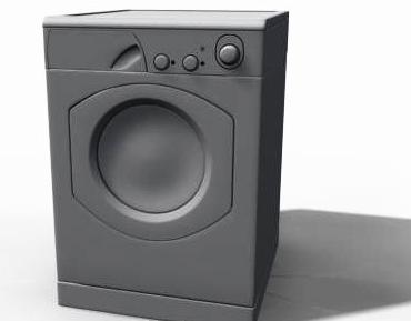 Washing Machine 3D Model -6