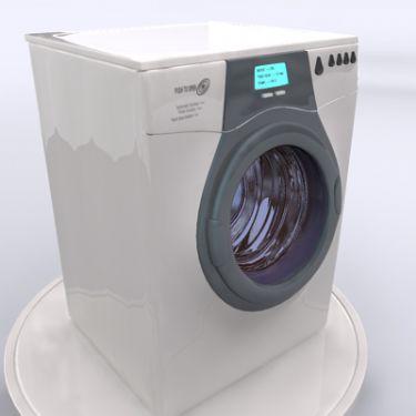 Washing Machine 3D Model Download