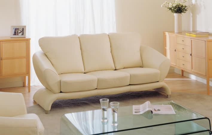 White living room sofa at home more than 3D models (including materials)