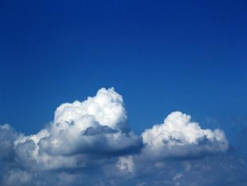 Blue Sky And The Clouds 2 Free JPG