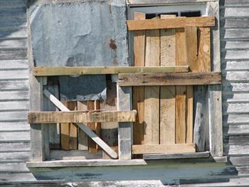Board Window Grunge