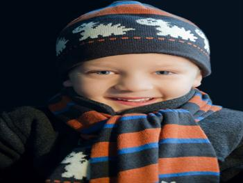 Child And Winter Fashion