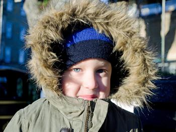 Child And Winter Jacket