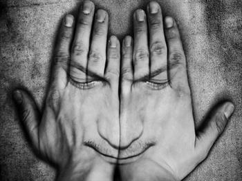 Face In Hands