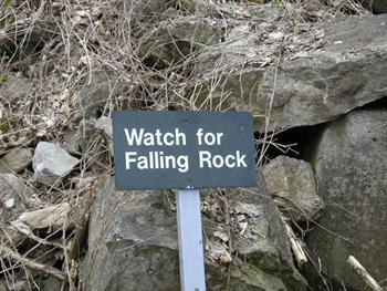 Falling Rocks Free JPG