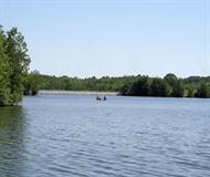 Fishing At Veterans Memorial Lake