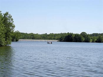 Fishing At Veterans Memorial Lake Free JPG
