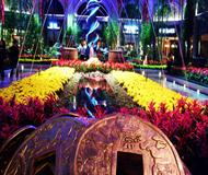Garden With Gold Coins – Bellagio