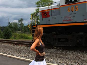 Girl And The Train