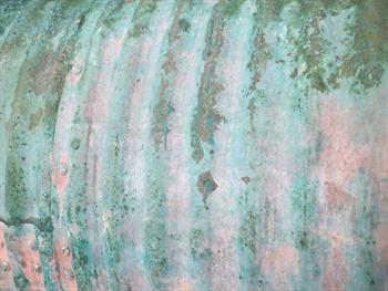 Green Rust Grunge Background