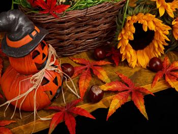 Halloween Autumn Theme Free JPG
