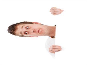 Man Looking Down