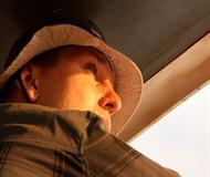 Man On Safari