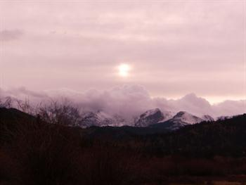 Mountain Sunset Free JPG