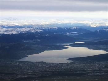 Mountains With Lake Free JPG