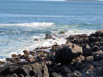 Ocean And Rocks Free JPG