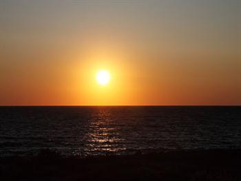 Ocean Sunset Free JPG