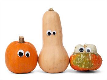 Pumpkin Faces Free JPG