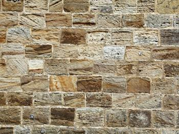 Sandstone Brick Wall Free JPG