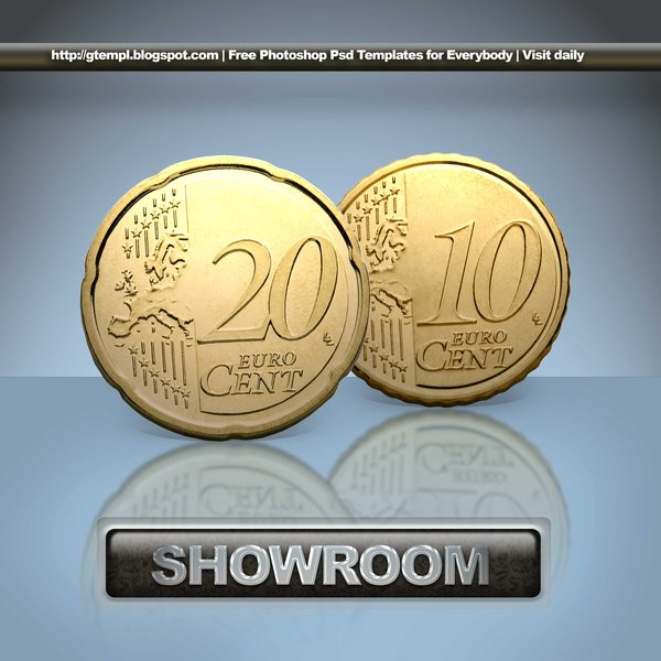 ShowRoom Money PSD free