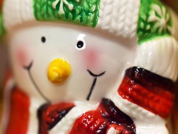 Smiling Snowman Free JPG