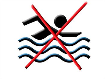Swimming Is Prohibited