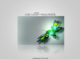 C4D Light Wallpaper 1280×800