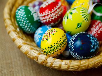Traditional Easter Eggs Free JPG