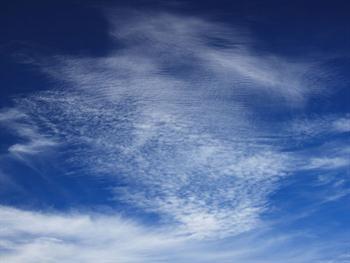 White Cloud And Blue Sky Free JPG