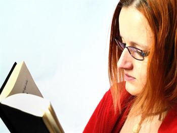 Woman And The Book