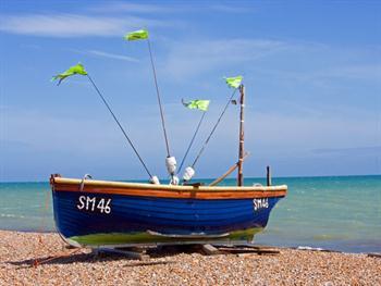 Wooden Fishing Boat Free JPG