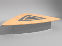 3d conference table model