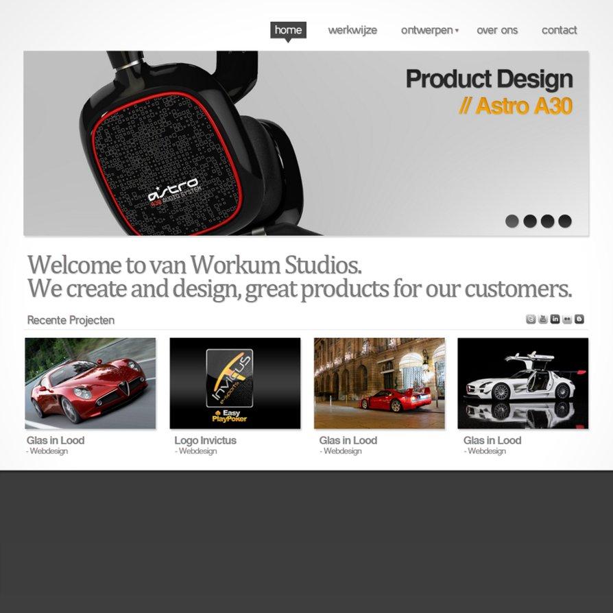Concept Portfolio PSD free