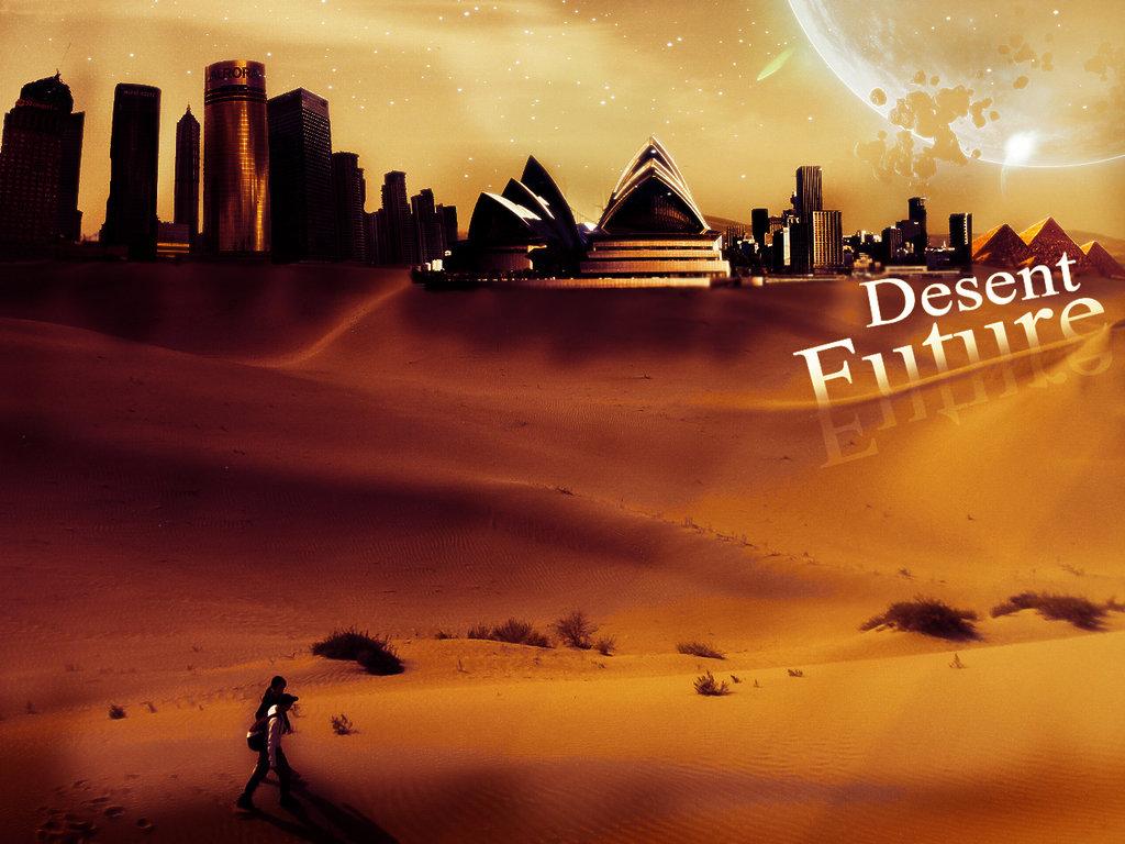 Desert Future Wallpapers